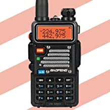 Baofeng x Radioddity UV-5RX3 Tri-band Radio VHF, 1.25M, UHF Amateur Handheld Ham Two Way Radio Walkie Talkie with Earpiece and Programming Cable