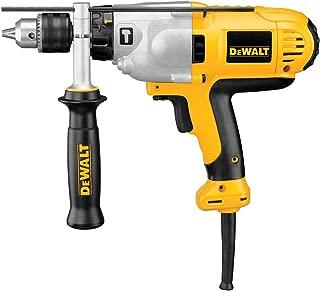 DEWALT Hammer Drill Kit, 1/2-Inch, 10-Amp, Mid-Handle Grip (DWD525K)