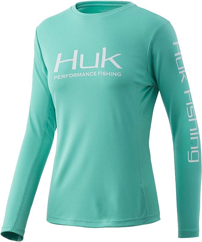 HUK Homme Icon écume de mer Medium Shirt à Manches Courtes