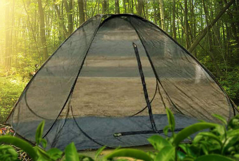 Cenador para Terraza Jardín Patio - Toldo para Eventos al Abierto with Mesh Stop Mosquito, Event Shelter, ienda de Protección UV con Paneles Laterales para Playa, Festivales y Camping 220x220x130cm: Amazon.es: Jardín