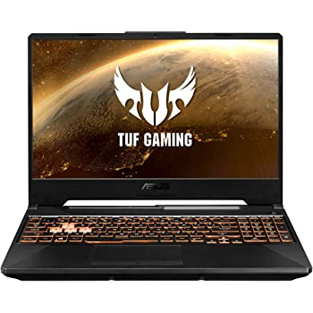 "ASUS TUF Gaming A15 FX506LH-BQ034 - Ordenador Portátil Gaming de 15.6"" FullHD (Intel Core i5-10300H, 16GB RAM, 512GB SSD, NVIDIA GTX1650-4GB, Sin Sistema Operativo)Negro Hoguera-Teclado QWERTY español"