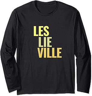 Leslieville Toronto Neighbourhoods Long Sleeve T-Shirt