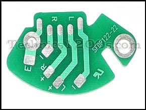 Technics 1200 1210 RCA Phono PCB Printed Circuit Board (Stock)
