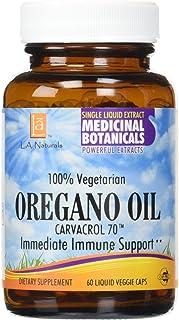 L A NATURALS Oregano Oil Veggie Capsules 60 Vgc, 0.02 Pound