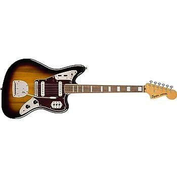 Squier by Fender エレキギター Classic Vibe '70s Jaguar®, Laurel Fingerboard, 3-Color Sunburst