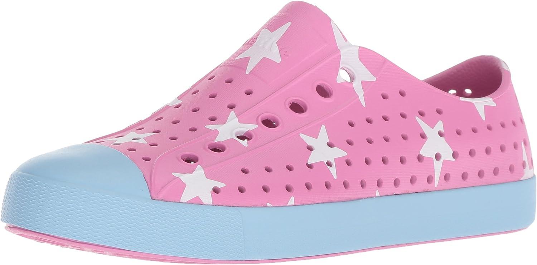 Native shoes Jefferson Water shoes, Malibu Pink Sky bluee Big Star, 4 Men's (6 B US Women's) M US