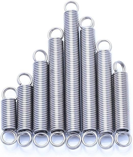 10pcs Size : 10mm DINGGUANGHE-CUP Spannfedern 10pcs Druckfeder Drahtdurchmesser 1,2 mm Durchmesser 17 mm 304 Federr/ückfeder Edelstahl Druckfeder f/ür die Metallbearbeitung