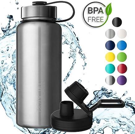 720°DGREE Botella Agua Acero Inoxidable noLimit – 530ml, 950ml | Antigoteo con Termo termica | para Beber Deportiva Niños