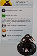 Heroclix Fear Itself #031 Wolverine Figure with Card by WizKids