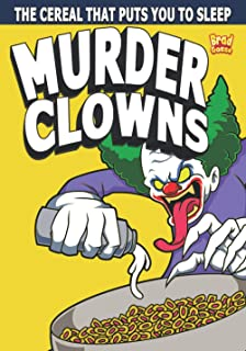 Murder Clowns: Cereal Box Cover Variant B