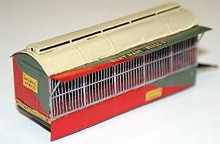 Langley Models Circus Zoo Beast Tiger Lion Bear wagon OO Scale UNPAINTED Kit CIR8