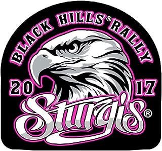 2017 Sturgis Rally 77th Anniversary Eagle Head Ladies Biker Rally Patch