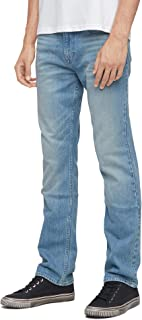 Calvin Klein Jeans Men's 035 Straight Fit Denim Jean