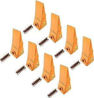 8 - Bobcat Style Mini Excavator/Skid Steer Bucket Teeth w/Pins - 6737325