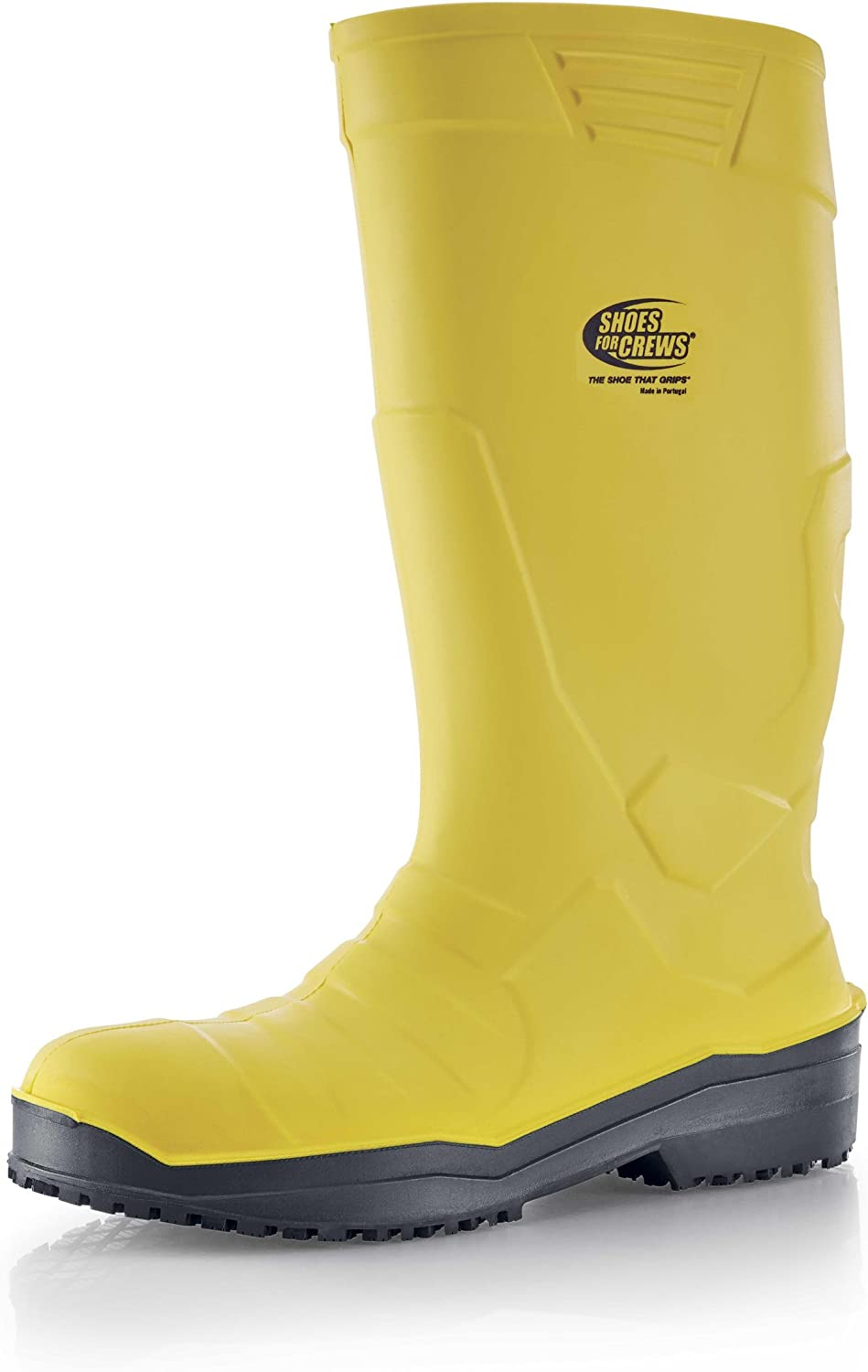 shoes for Crews Sicherheitsgummistiefel Sentinel PU Wellington S4 - Unisex yellow