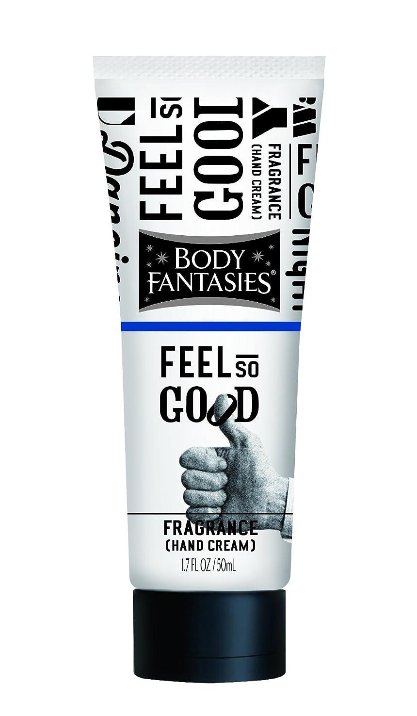 加速度尋ねる彼らはボディファンタジー フレグランスハンドクリーム フィール ソー グッド FEEL SO GOOD 50ml