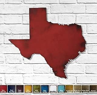 Best texas metal wall art Reviews