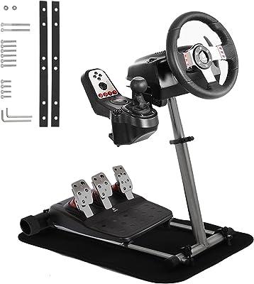 Mophorn Racing Steering Wheel Stand 360 Degree Stepless Adjustable for Logitech G25 G27 G29 G920 Thrustmaster
