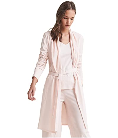 Skin Organic Cotton Coleen Robe (Pearl Pink) Women