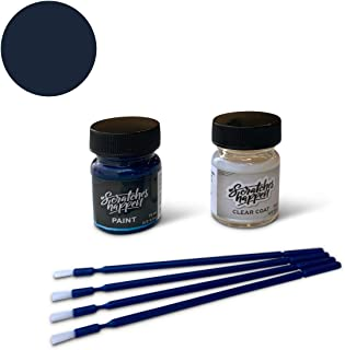 ScratchesHappen Exact-Match Touch Up Paint Kit Compatible with Ford/Lincoln Blue Jeans (N1/M7291A) - Essential