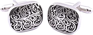 Men Silver Cufflinks stainless steel for Men C038