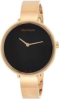 Calvin Klein Womens Quartz Wrist Watch, Analog and Stainless Steel- K7A23641