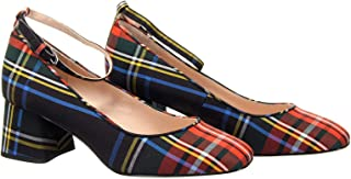 j crew tartan shoes