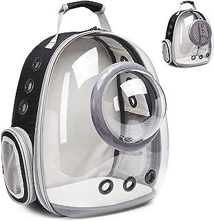 حقيبة كيس شفافة جديدة، مقصورة الحيوانات الأليفة، حقيبة الظهر القط، الخروج والحمل