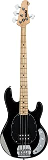 $299 » Sterling By MusicMan 4 String Sterling by Music Man S.U.B. Series Ray4 StingRay Bass, Black, Right Handed (Ray4-BK)