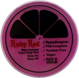 Ruby Red Paint Face Paint, 75ML - Rose