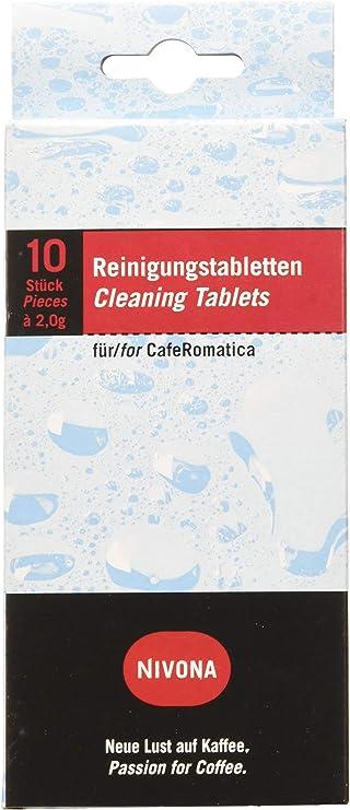 Nivona CafeRomatica Kaffeemaschinen 1 x Nivona NIRT701 Reinigungstabletten f