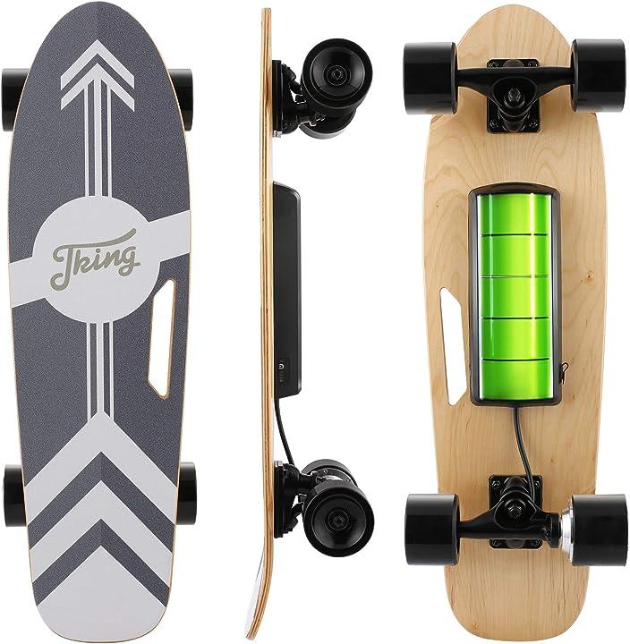 Skateboard elettrico caroma con telecomando a led wireless 350 w  B08N5Q69SH