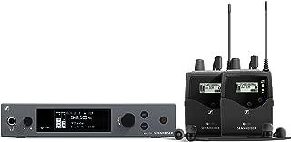 Sennheiser Pro Audio Sennheiser ew IEM G4-TWIN-G In ear Monitor System w/ 2 belt packs Range G (566-608Mhz), Dual Beltpack