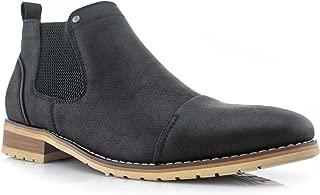 aldo mens boots black