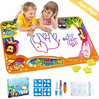 Betheaces Water Drawing Mat Aqua Magic Doodle Kids Toys Mess Free Coloring Painting..