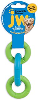 JW Pet Company Mini Invincible Chains Dog Toy, Colors Vary