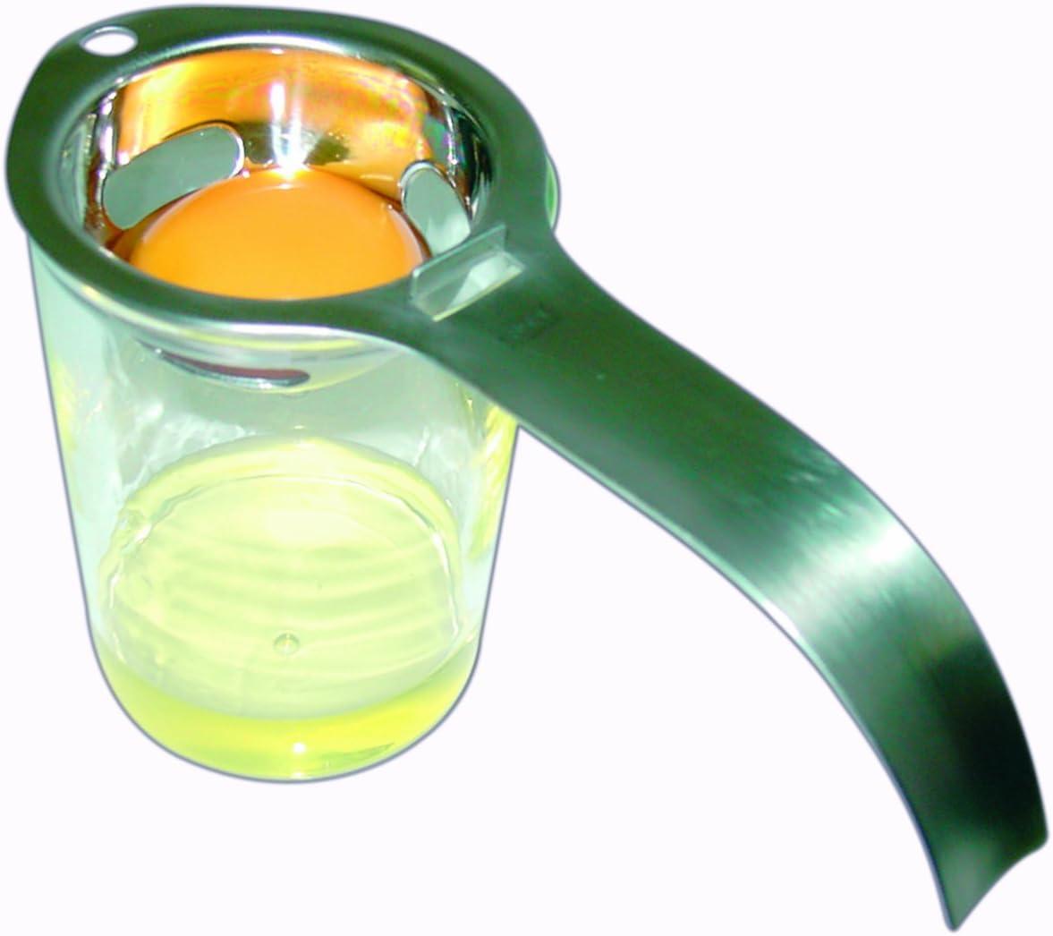 Eidotter-Trenner Ei-Teiler 9 3cm Orange 6 Fuyamp Silikon-Eiertrenner in Goldfisch-Form