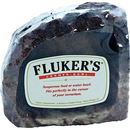 Small Flukers Food//Water Reptile Corner Bowl