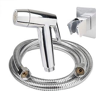 Handheld Bidet Sprayer for Toilet Shattaf Set Adjust Sprayer Mode Vaburs Portable Pet Shower Toilet Water Sprayer Seat Bid...