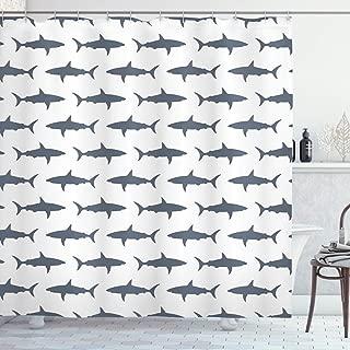Best shark shower curtain Reviews