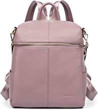 BOSTANTEN Geniune Leather Fashion Backpack Purse Casual Bags for Women
