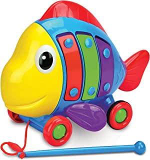 The Learning Journey: Pull Along Tune a Fish - Makes Music As You Pull Along!