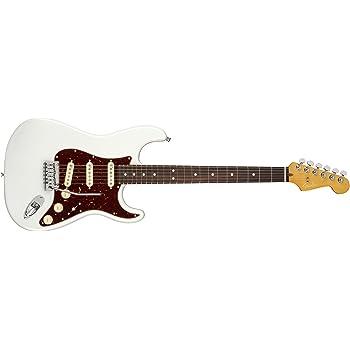 Fender American Ultra Stratocaster Arctic Pearl w/Hardshell Case