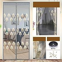 Borduurwerk magneet vliegengaas, deur, handenvrij, eenvoudig te monteren, magnetisch vliegengordijn, magneet, insectenwere...
