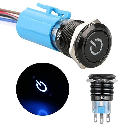 Super Push Button Switch 12V Amazon Com Wiring Digital Resources Operbouhousnl