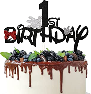 Details about  /Mickey Cake Topper Mickey Mouse Inspired Birthday Cake Topper Cake Decoration Su