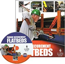 Cargo Securement FLATBEDS English Training DVD Video - J. J. Keller & Associates - Helps Drivers Understand Flatbed Cargo Loading and The Flatbed Cargo Securement Process
