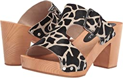Cherri Wooden Heeled Sandal