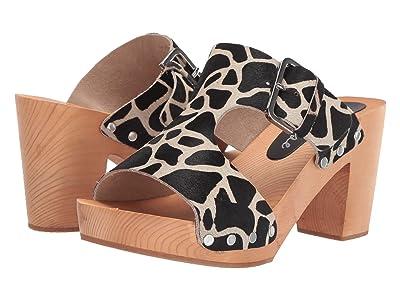 Matisse Cherri Wooden Heeled Sandal (Giraffe) Women