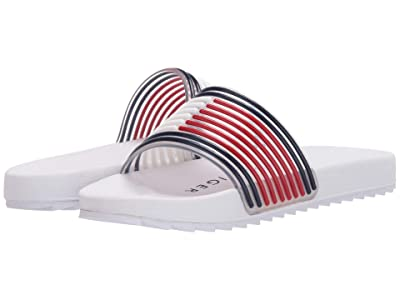 Tommy Hilfiger Kids Shylo II (Little Kid/Big Kid) (White/Flag Molded) Girl